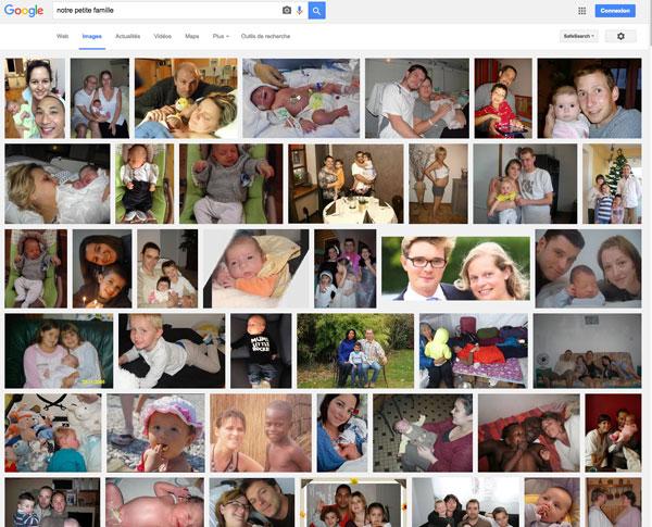 Comment vos photos personnelles se retrouvent dans Google images
