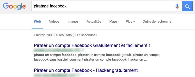 Piratage Facebook : des millions de victimes chaque année